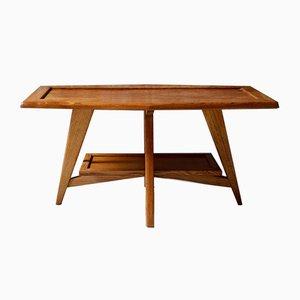 Tavolino da caffè vintage in legno, anni '50