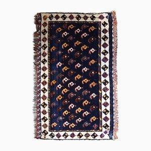 Antiker orientalischer Bag Face Teppich, 1890er