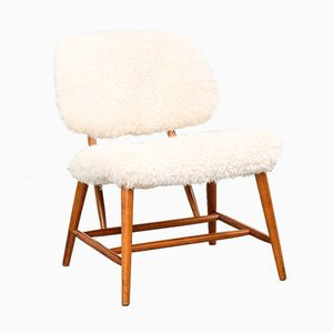 Te-Ve Easy Chair by Alf Svensson for Ljungs Industrier, 1950s