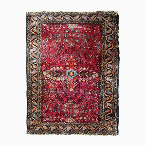 Vintage Handmade Sarouk Rug, 1920s