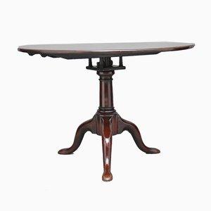 Dreibeiniger Tisch aus Mahagoni, 18. Jh.
