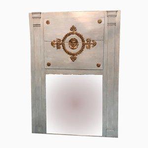 Antiker französisches Trumeau mit Spiegel