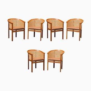 Stühle von Rud Thygesen & Johnny Sørensen für Botium, 1980er, 6er Set