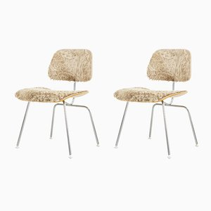 DCM Chairs by Charles & Ray Eames for Herman Miller, 1970s, Set of 2