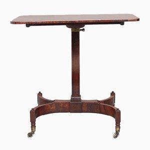 Table Ajustable 19ème Siècle en Palissandre