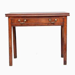 Mesa de té de caoba, década de 1780
