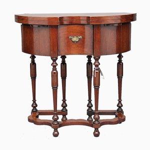 Mesa de juegos holandesa antigua, década de 1740