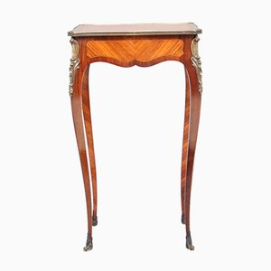 French Kingwood Side Table from A Beurdeley, 1880s
