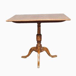 Tavolo da pranzo antico in radica di ontano