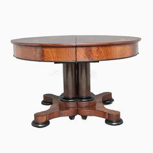 Ausziehbarer Tisch aus Mahagoni, 1840er