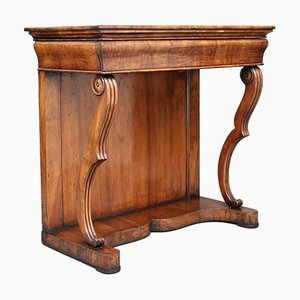19th Century Continental Walnut Console Table