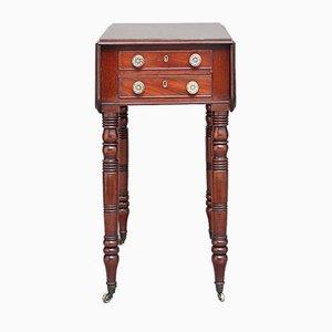 Mahogany Drop Leaf Table, 1830s