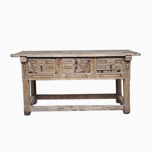 Table Console Antique, Espagne, 1640s