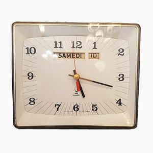 Ortic Transistor Wall Clock from Jaz, 1970s