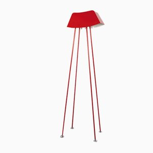 Monsieur Lamp in Red by Marco de Masi for Officine Tamborrino
