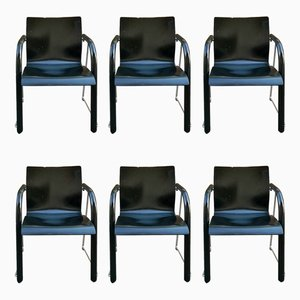 S320 Armchairs by Ulrich Böhme and Wulf Schneider for Thonet, 1980s, Set of 6