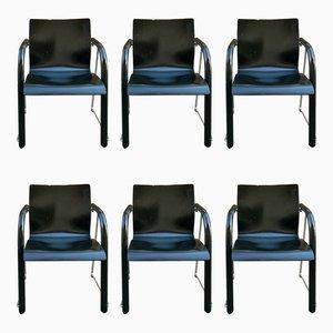 S320 Stühle von Ulrich Böhme & Wulf Schneider für Thonet, 1980er, 6er Set