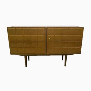 Scandinavian Sideboard with Tile Pattern, 1950s