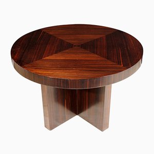 Macassar Ebony Coffee Table, 1930s