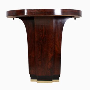 Art Deco Rosewood Console Table, 1930s
