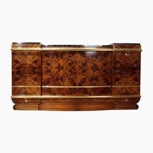 Large Walnut Bar, 1930s