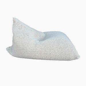 Sitzsack aus gestrickter Wolle von SanFates