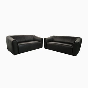 Vintage Leather DS 47 Sofas from de Sede, Set of 2