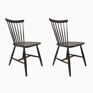 Scandinavian Chairs by Sven Erik Fryklund for Hagafors, Set of 2