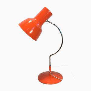 Vintage Orange Table Lamp by Josef Hurka for Napako