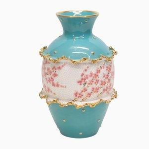 Keramikvase von Deruta, 1960er