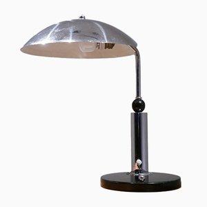 Lámpara de escritorio vintage cromada de KMD Daalderop