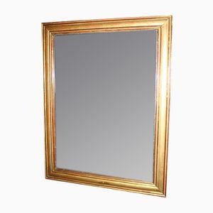 Specchio Restauration in legno dorato