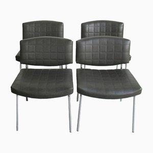 Modell Conseil Chairs von Pierre Guariche für Meurop, 1960er, 4er Set
