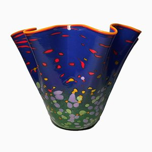 American Glass Vase from Mad Art Studio, 1999