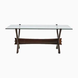 Table Basse par Fredrik Schriever-Abeln pour Örebro Glas de Sweden, 1960s