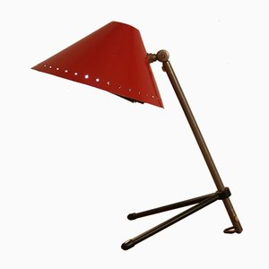 Lámpara de mesa Pinocchio de H. Th. J. A. Busquet para Hala, años 50