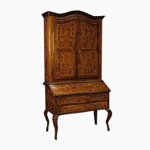 Armadio in legno intagliato, Italia, XVIII secolo