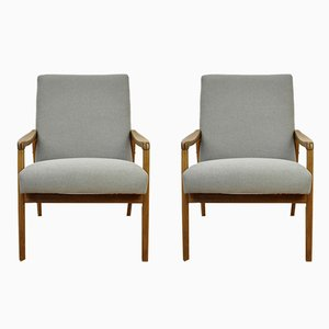 Vintage Czech Armchairs, 1960s, Set of 2