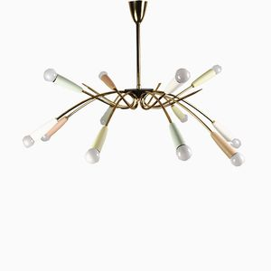 Spider Ceiling Lamp, 1950s