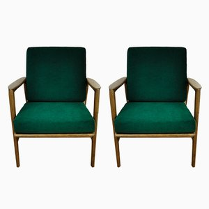 300-139 Armlehnstühle von Swarzędzka Factory, 1960er, 2er Set