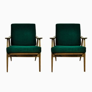 Vintage Czech Armchairs from TON, 1960s, Set of 2