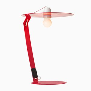 OT2 Lamp in Red by Marco Capeto for Officine Tamborrino