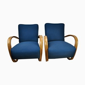 H-269 Armchairs by Jindřich Halabala for UP Závody, 1930s, Set of 2