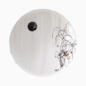 Eclipse Spiegel aus Stahl/Diabas von Stoft Studio für Kullaro