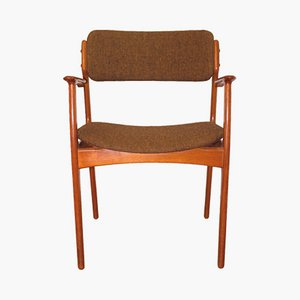 Danish Model 49 Armchair by Erik Buch for O.D. Møbler, 1960s