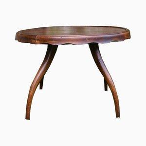 Tavolino da caffè vintage di Osvaldo Borsani per Atelier Borsani Varedo, anni '40