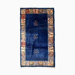 Chinesischer handgefertigter Art Deco Teppich, 1920er
