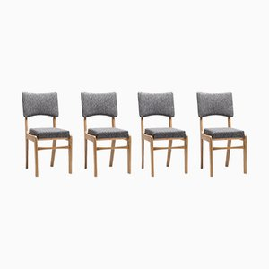 Type 296 Side Chairs by Rajmund Teofil Hałas for Great Proletariat Workshop, 1966, Set of 4