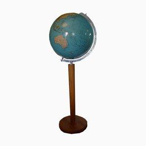 Vintage Teak Globe from Columbus Oestergaard