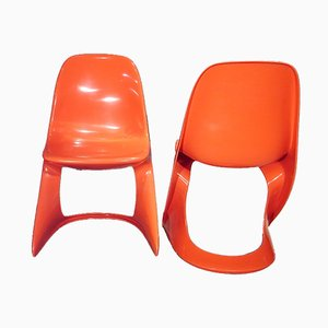 Casalino Chairs von Alexander Begge für Casala, 1970er, 2er Set